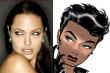 Comparing Angelina Jolie to the revised Catwoman from the comics