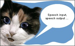 Picture: Talking cat